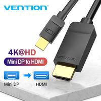 Кабель Thunderbolt (Mini DisplayPort ) - HDMI 1,5 метра Vention