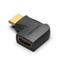 Переходник угловой HDMI-F (гнездо) - HDMI-М (штекер) Vention 90° Левый