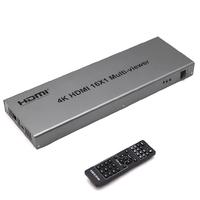 HDMI Multi-Viewer Мультививер-Переключатель 16 входов 1 выход Pro-HD