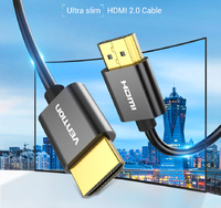 HDMI кабель v2.0 Vention Ultra Slim