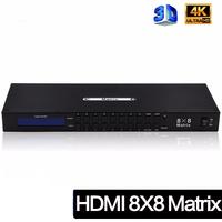 HDMI 4K Матрица коммутатор 8x8 ProHD-Tesla 8 входов - 8 выходов
