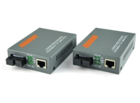 Медиаконвертер RJ45 single-mode SC fiber 10\100 Мегабит