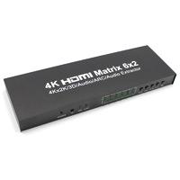 HDMI Матрица коммутатор 6x2 с аудио выходами Ce-Link