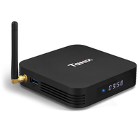 Андроид смарт тв приставка (Android TV box) Tanix TX6 4/32Gb