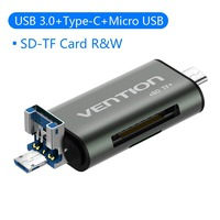Vention USB 3.0 Type-C Картридер OTG